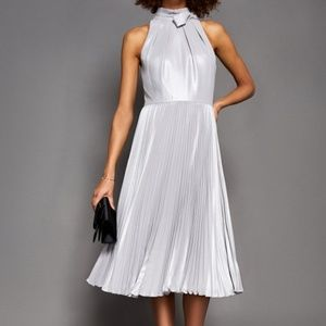 a3f3db7d34986 Ted Baker Olivien High Neck Pleated Dress